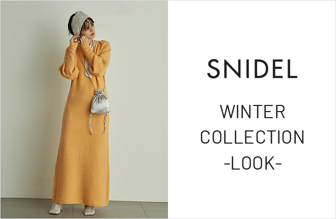SNIDEL Winter Collection -LOOK-