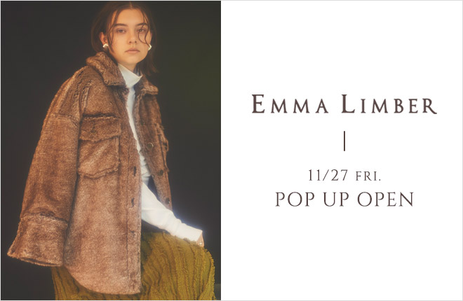 EMMA LIMBER POP UP OPEN