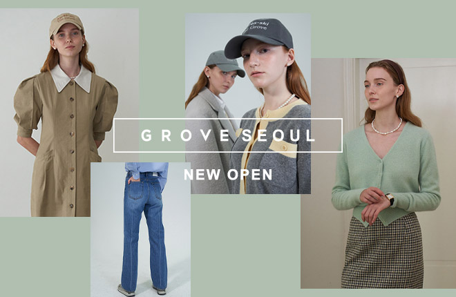 GROVE SEOUL New Open
