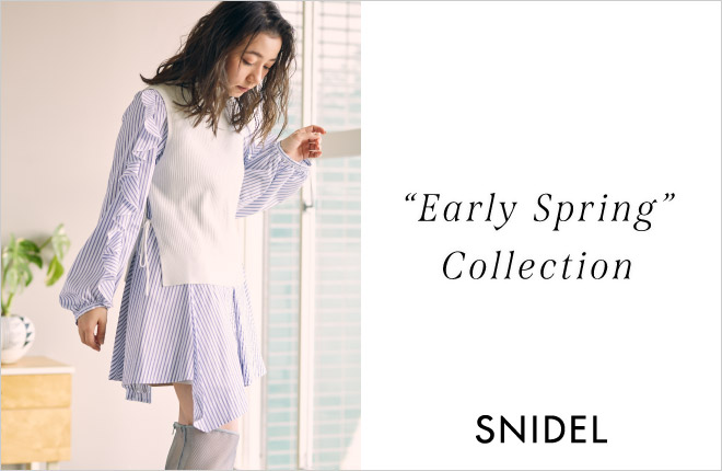 "SNIDEL ""Early Spring"" Collection"