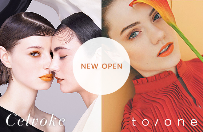 Celvoke&to/one OPEN!