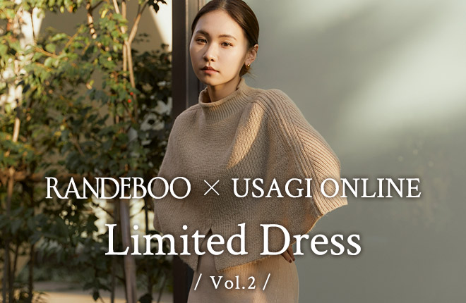 RANDEBOO ×USAGI ONLINE Limited Dress Vol.2