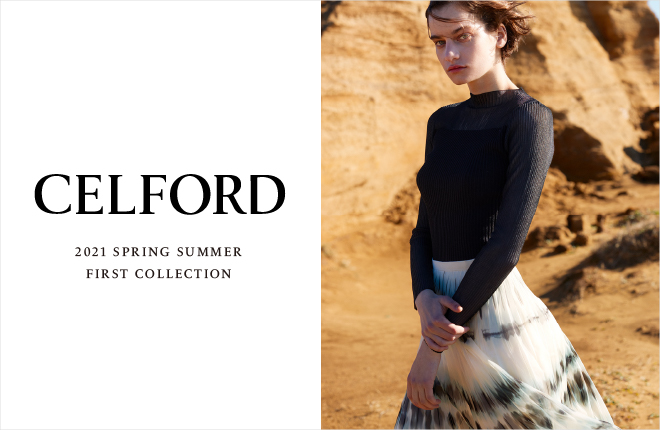 CELFORD 2021 Spring Summer Collection
