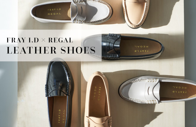 FRAY I.D×REGAL LEATHER SHOES