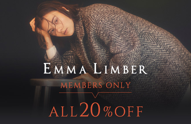 EMMA LIMBER MEMBERS ONLY ALL20%OFF