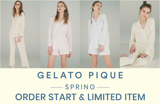 gelato pique 2021 SPRING COLLECTION