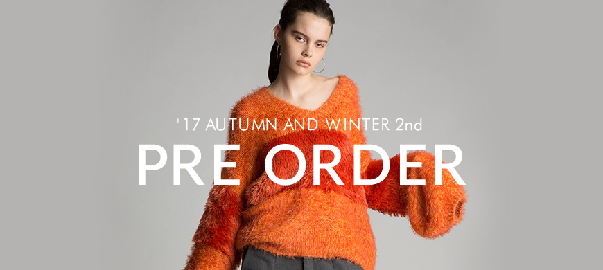 styling/ '17 AUTUMN AND WINTER 2nd PRE ORDER