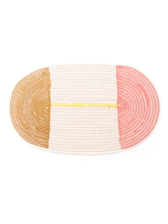 amabro/COTTON PLACE MAT Round/キッチングッズ