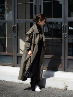 ANIECA/Taping Trench Coat/その他アウター