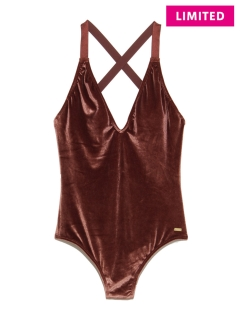 アザーブランド(OTHER BRANDS)の【ROXY】WESTERN ESCAPE VELVET ONE PIECE ワンピース水着