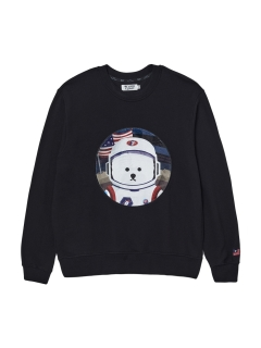 Beyond Closet/【UNISEX】APOLLO COLLECTION CLASSIC LOGO PATCH SWEAT/スウェット