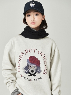 Beyond Closet/【UNISEX】BOO DOG SWEAT/スウェット