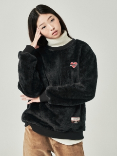 Beyond Closet/【UNISEX】ROMEO ECO FUR PULL OVER/スウェット
