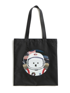 Beyond Closet/【UNISEX】[RE-EDITION]APOLLO DOG NYLON TOTE/トートバッグ