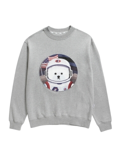 Beyond Closet/【UNISEX】APOLLO DOG PATCH SWEAT-SHIRTS/スウェット