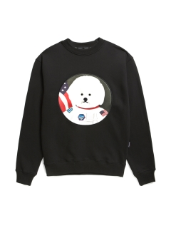 Beyond Closet/【UNISEX】APOLLO DOG PATCH SWEAT-SHIRTS 2019FW/スウェット
