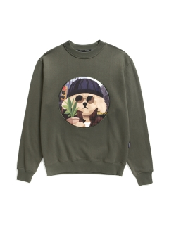 Beyond Closet/【UNISEX】MOVIE MAN DOG PATCH SWEAT-SHIRTS 2019FW/スウェット