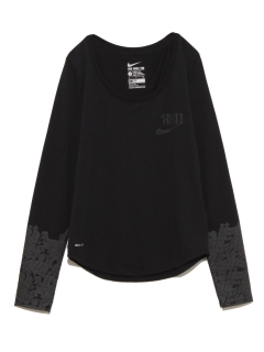 ナイキ(NIKE)の【NIKE】AS RUN P W STAR LS TEE トップス