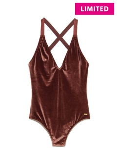 OTHER BRANDS/【ROXY】WESTERN ESCAPE VELVET ONE PIECE/水着