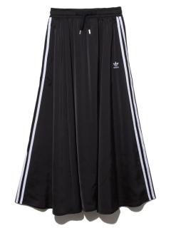adidas/【adidas Originals】LONG SATIN SKIRT/マキシ丈/ロングスカート