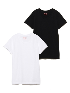 OTHER BRANDS/【Hanes】2P JAPAN FIT FOR HER クルーネックTシャツ/トップス
