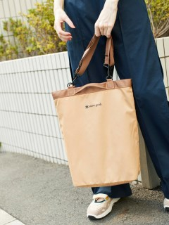 OTHER BRANDS/【emmi×Snowpeak】2way Tote Bag/トートバッグ