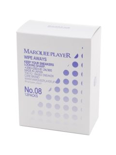 OTHER BRANDS/【MARQUEE PLAYER】WIPE AWAYS No.08/シューケアグッズ