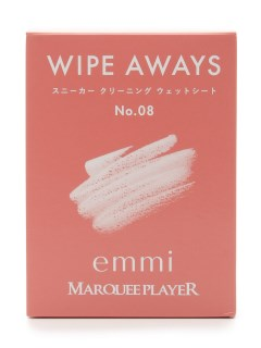 OTHER BRANDS/【MARQUEE PLAYER】WIPE AWAYS No.08/emmi/シューケアグッズ