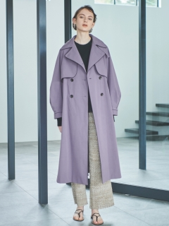 EMMA LIMBER/Piping Trench Coat/トレンチコート