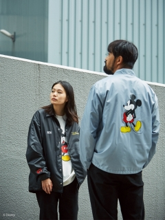 ey/<EY X WIND AND SEA>DISNEY/PACKABLE COACH JACKET/その他アウター