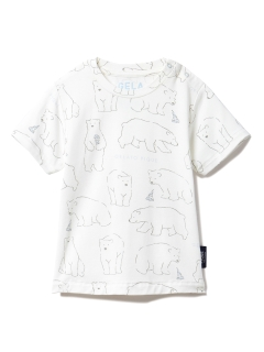 gelato pique Kids&Baby/【BABY】【シロクマフェア】冷感 baby Tシャツ/トップス