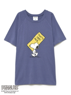 GELATO PIQUE HOMME/【PEANUTS】HOMME ワンポイントTシャツ/Tシャツ/カットソー