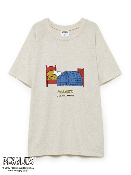 PEANUTS HOMME ワンポイントTシャツ