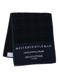 GELATO PIQUE HOMME/【MISTERGENTLEMAN×HOMME】BLACKWATCH FACE TOWEL/フェイスタオル