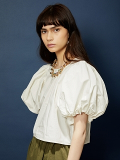GHOSPELL/Unscripted Puff Sleeve Top/シャツ/ブラウス