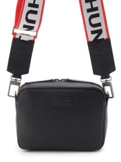 HUNTER/【UNISEX】original rubberised leather mini crossbody - two strap/ショルダーバッグ