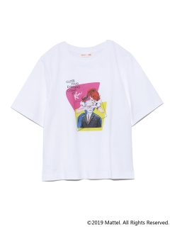 Lily Brown/BarbieプリントTシャツ/カットソー/Tシャツ