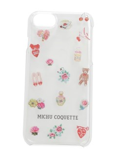 MICHU COQUETTE/iphone clear case/スマホケース