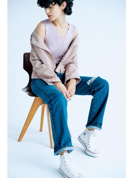 ダメージボーイズデニムパンツ(デニムパンツ・ジーンズ)|Mila Owen(ミラ オーウェン)|ファッション通販|ウサギオンライン公式通販サイト