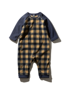 THE NORTH FACE/【BABY】FLEECE ROMPERS/ロンパース/カバーオール