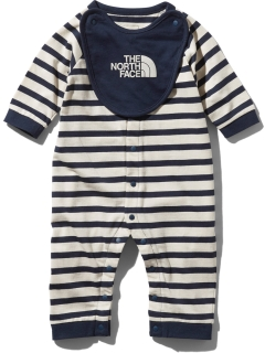 THE NORTH FACE/【BABY】L/S  ROMPERS2P BIB/その他