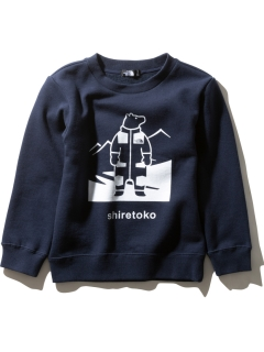 THE NORTH FACE/【KIDS】SHIRETOKO SWEAT C/スウェット