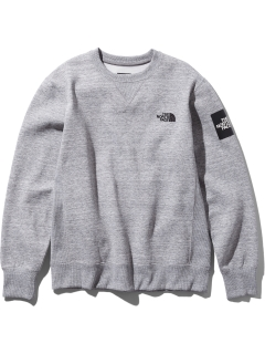 THE NORTH FACE/【UNISEX】SQUARE LOGO CREW/スウェット