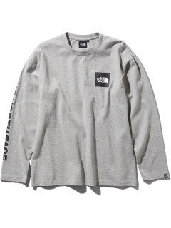 THE NORTH FACE/【UNISEX】L/S SQUARE LOGO T/カットソー/Tシャツ