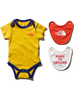 THE NORTH FACE/【BABY】S/S ROMPER &2P BIB/その他