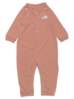 THE NORTH FACE/【BABY】B L/S Rompers & 2P Bib/ロンパース/カバーオール