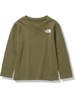 THE NORTH FACE/【KIDS】L/S Square Logo Tee/カットソー/Tシャツ