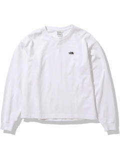 THE NORTH FACE/【WOMEN】L/S Nuptse Cotton Tee/カットソー/Tシャツ