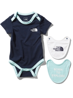 THE NORTH FACE/【BABY】 S/S ROMPER 2P BIB/ロンパース/カバーオール