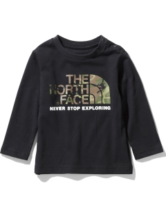 THE NORTH FACE/【BABY】B L/S CAMO LOGO T/トップス